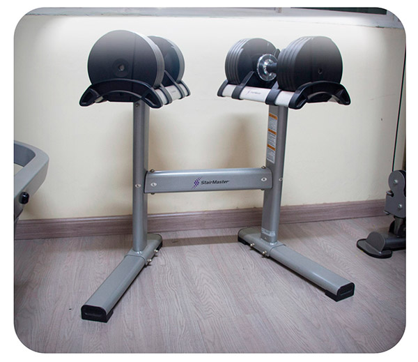 Foto do Equipamento - Dumbbells